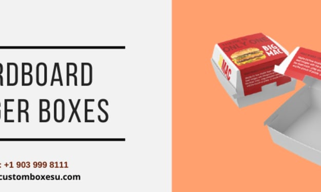 Get cardboard burger boxes with quality printing in Texas