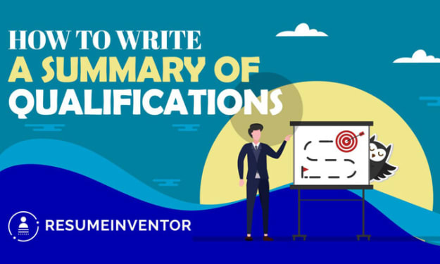 How To Write A Summary Of Qualifications