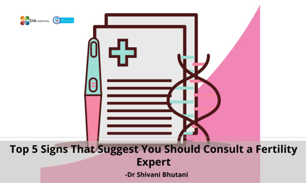 Top 5 Signs That Suggest You Should Consult a Fertility Expert