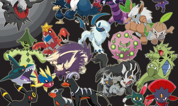 My Dark-type Pokémon  Team
