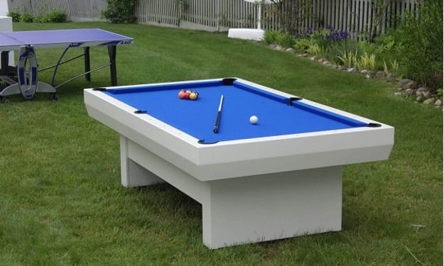 How to find Durable and Weather Resistant Outdoor Pool Table?