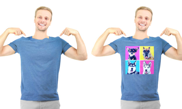 Why Is Printed T-Shirts More Popular Than Normal T-Shirts?