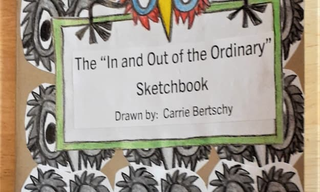 """Putting together """"In and Out of the Ordinary"""" for The 2021 Sketchbook Project"""