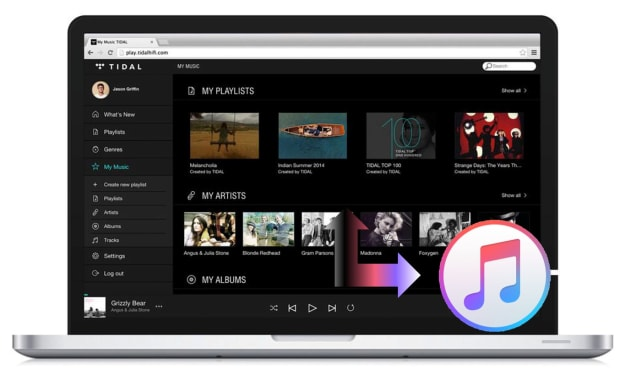 How to Download Music from Tidal to iTunes