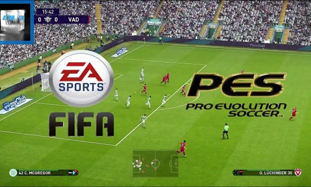 Greatest Goal - FIFA Vs. Pro Evolution Soccer