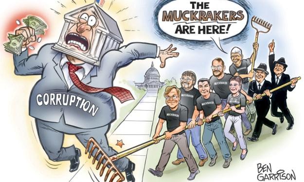 Muckrakers the super heroes of journalism