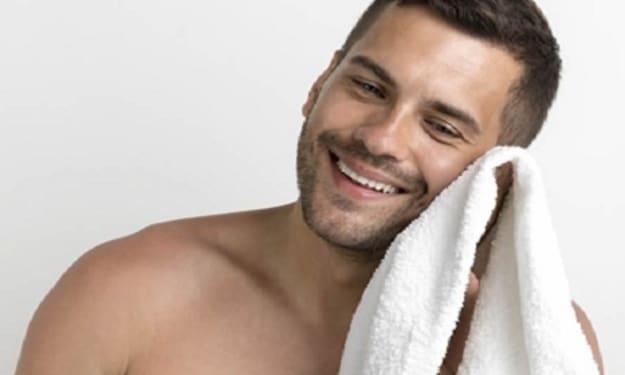 Facial Cleansing for Men
