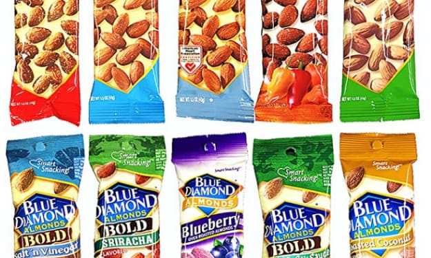 Rating the Blue Diamond Almonds Variety Pack