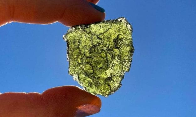 The Power of Moldavite.