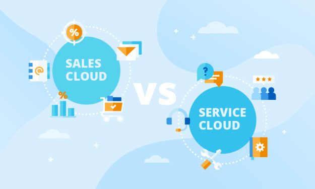 Salesforce Sales Cloud vs Service Cloud: Which one is better for your Business?