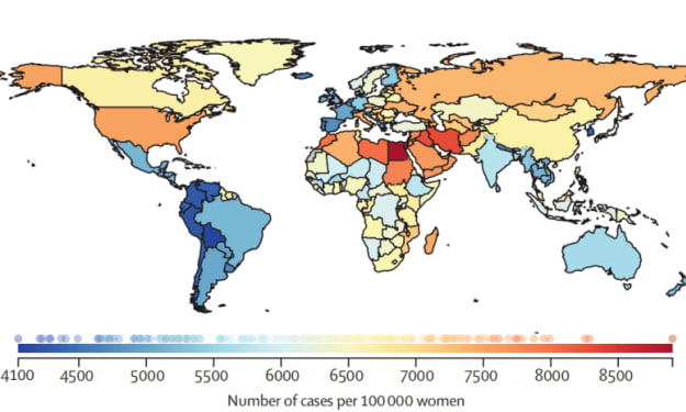 Lower blood pressure, lose weight and lower fat! The Lancet releases global report on women's cardiovascular disease