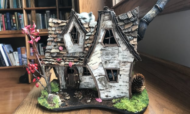 Depressed? Try Building a House for Faeries!