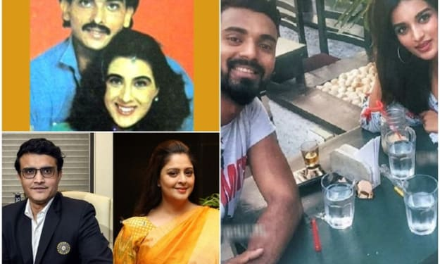 Top 7 Cricketers who had an affair with Bollywood Actresses