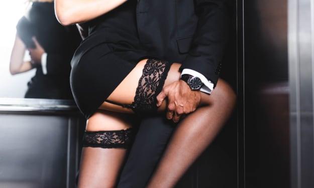 Pleasured by her Boss