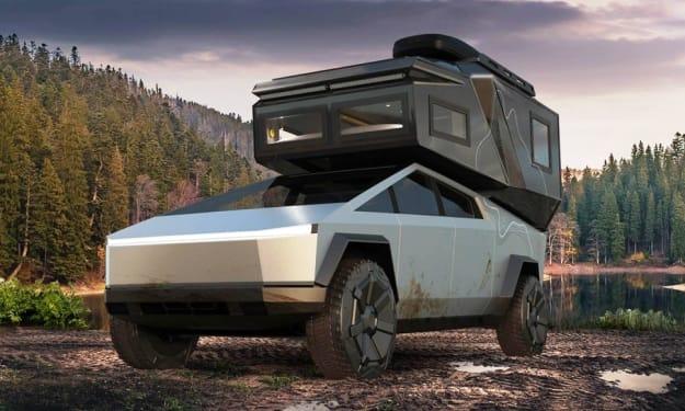 Loki Basecamp Reveals New Spacious Pickup Camper for Tesla Cybertruck