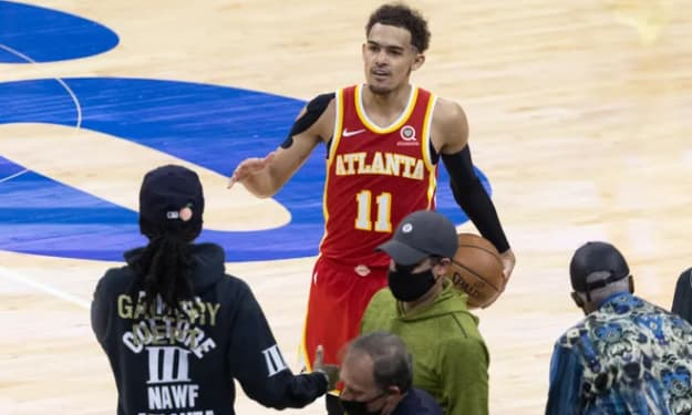 Hawks get the win in a historical comeback