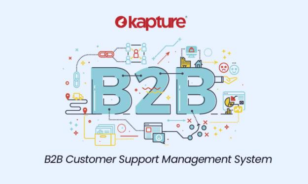 B2B Customer Support Management System