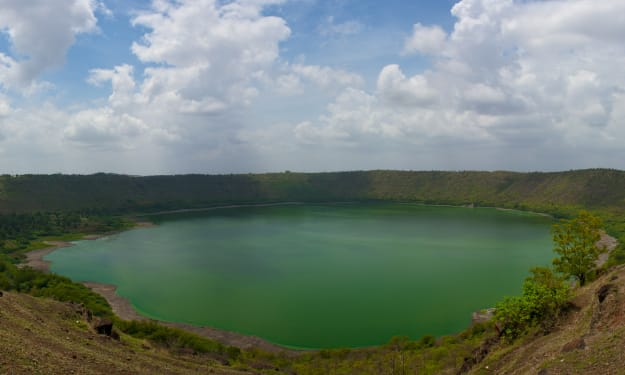 Lonar Lake: The Lake Created by a Meteor