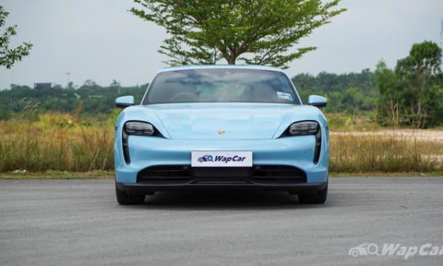 A Review of Porsche Taycan