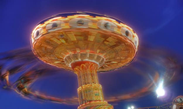 Have you ever ridden the Swing Ride at the amusement park