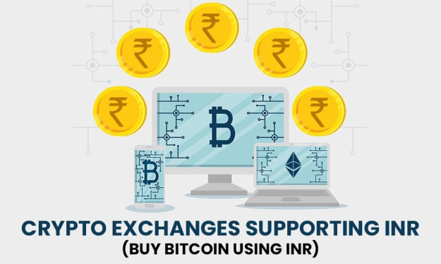 Crypto Exchanges Supporting INR (Buy Bitcoin Using INR)