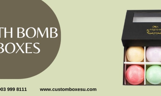 Get bath bomb packaging with quality printing in UK