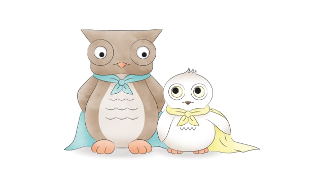 Owl in a Towel