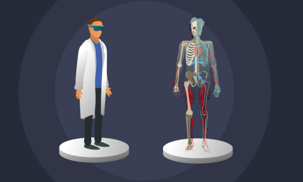 Assisted Reality Might Play an Important Role in Medical Fields
