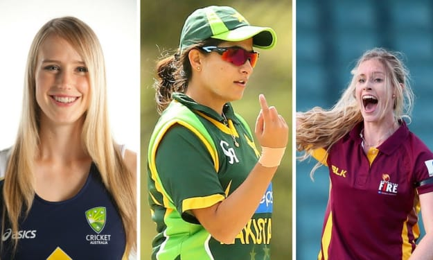 10 Most Beautiful & Hottest Women Cricketers in the World Till Now