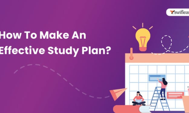 How To Make An Effective Study Plan?