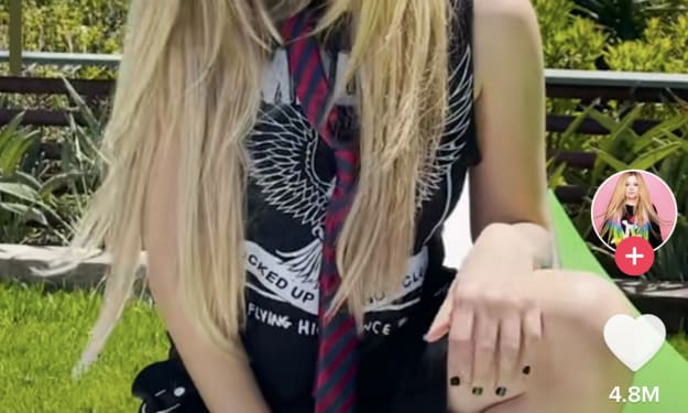 I couldn't be Avril Lavigne