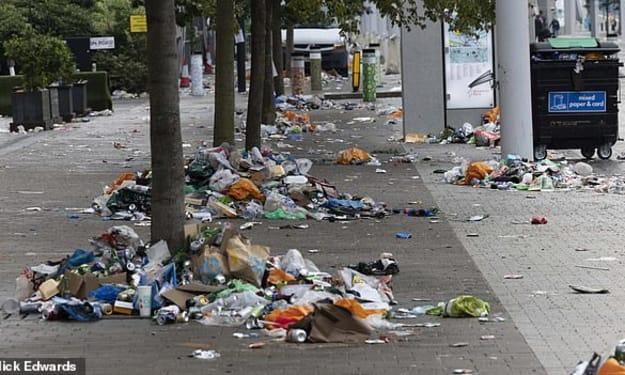 Mass Clean Up Under Way After Euro 2020 Final
