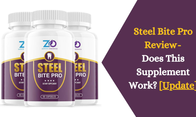 Steel Bite Pro Review- Does This Supplement Works? [Update]