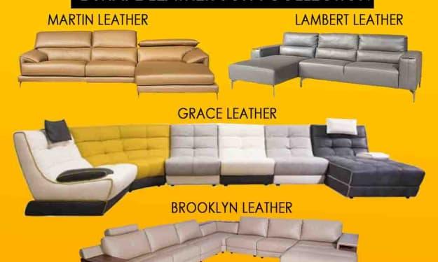 CherrypickIndia Luxurious Leather sofa