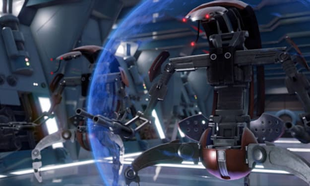 The Terrifying 'Star Wars' Species That Destroyer Droids Are Modeled After