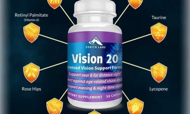 Vision 20 Review - Any Side Effects? Real Customer Experience Here!