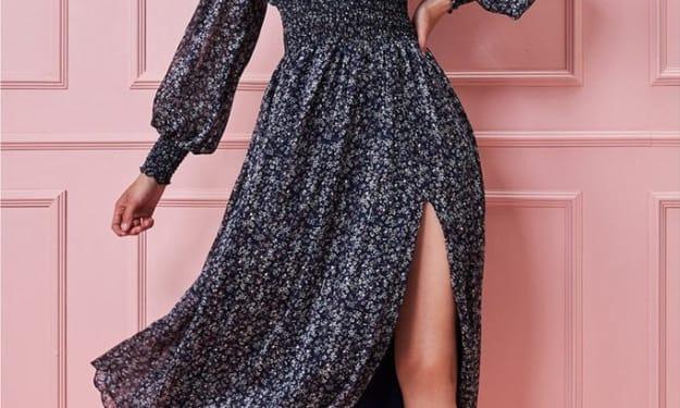 Floral Dresses are Divine.