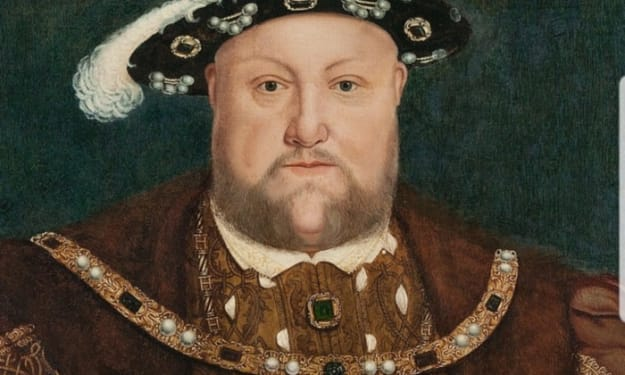 1536: Henry VIII's Cheese Slides Off His Cracker