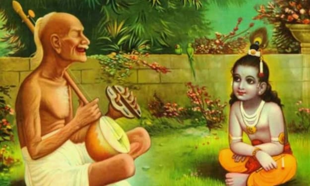 Surdas and the sweeper