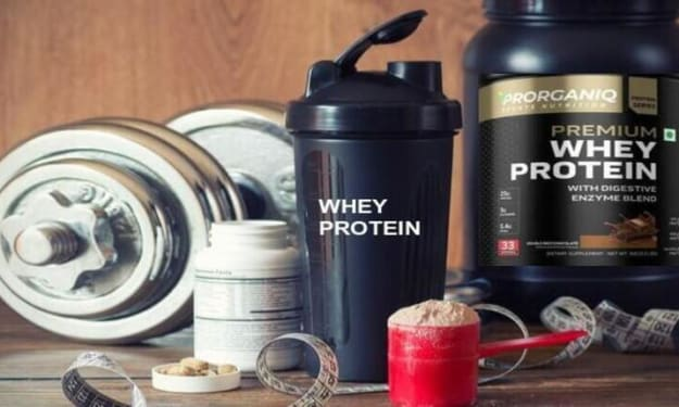 Whey Protein Concentrate - #1 Best Whey Protein Supplements on the Market (2021 Updated - Prorganiq India)
