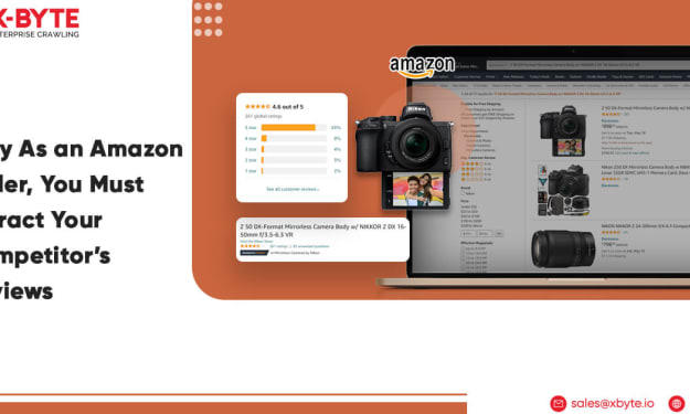 Why As an Amazon Seller, You Must Extract Your Competitor's Reviews