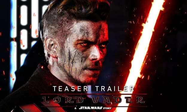 'Lord Vader: A Star Wars Story' Fan Trailer Will Turn You To The Dark Side