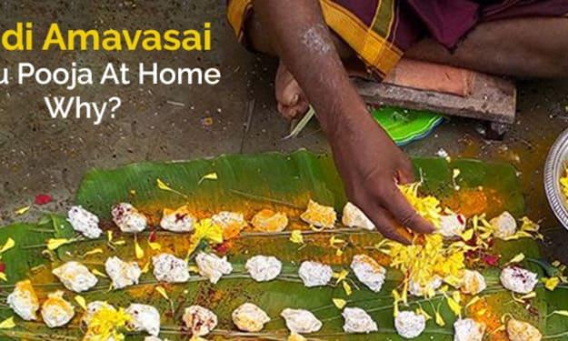 Aadi Amavasai Pitru Pooja At Home