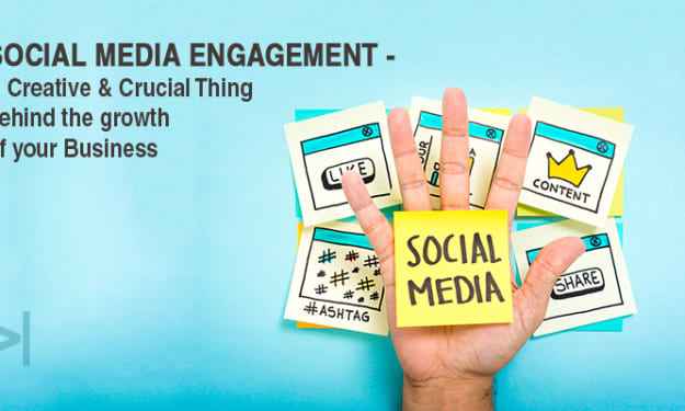 SOCIAL MEDIA ENGAGEMENT: A CREATIVE AND CRUCIAL THING BEHIND THE GROWTH OF YOUR BUSINESS