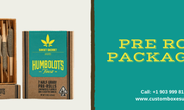 Pre roll packaging in Unique Designs & Huge Variety in USA