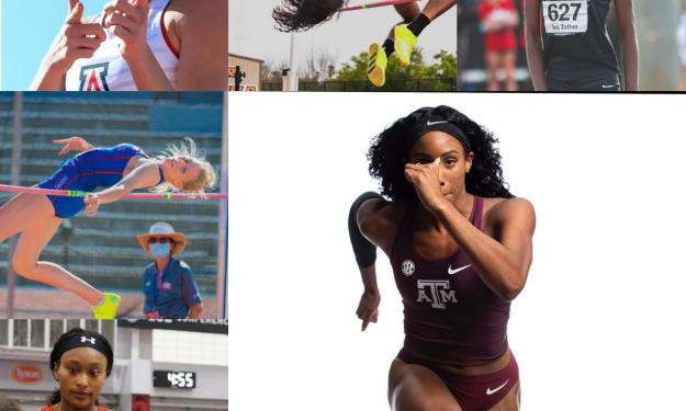Track & Field 2k21: Top High Jumpers around NCAA