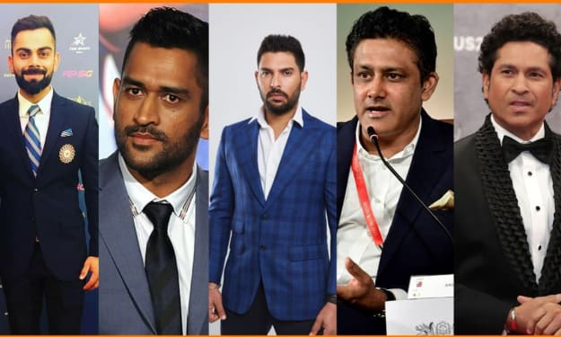 Indian Cricket Legends with their Investment in Startups