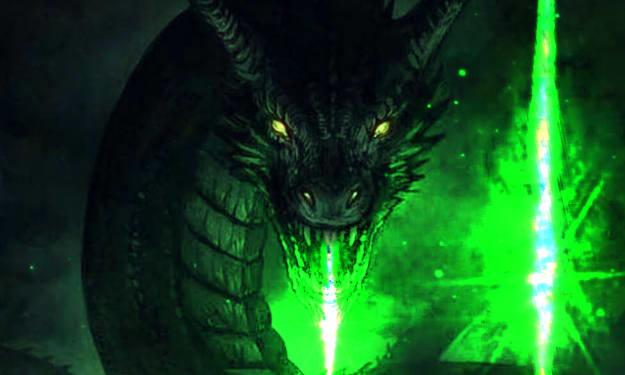 Mysterious Green Light