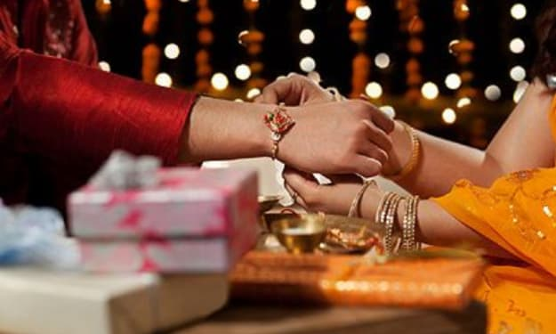 SEND LOVE AND WARM-WISHES DESGUISED AS RAKHI GIFT TO YOUR SIBLINGS