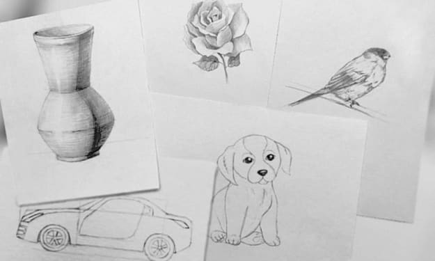 How to Draw with Pencil